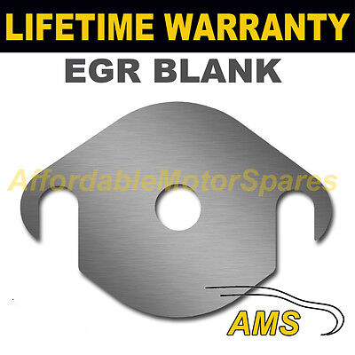 CITROEN RELAY PEUGEOT BOXER FIAT DUCATO EASY FIT EGR BLANK PLATE 1.5MM STEEL HS
