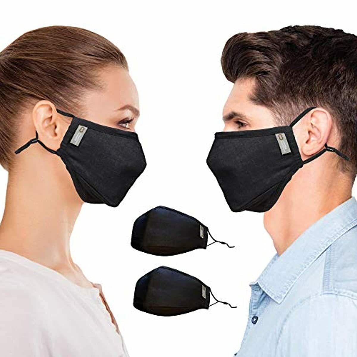 Copper Compression Face Mask - 2 Pack - Highest Copper ...