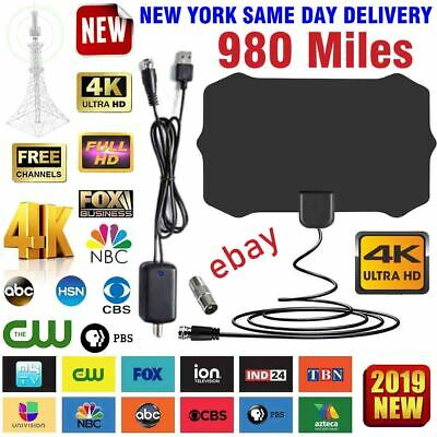 980 Mile Range Antenna TV Digital HD Skywire 4K Antena Digit
