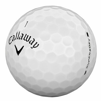 Callaway SUPERSOFT Golf Balls x 25 - PEARL / GRADE A - Lake from Ace Golf Balls