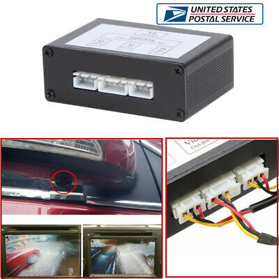 Car Parking Video Channel Auto Converter Rear View>Front View Working Priority