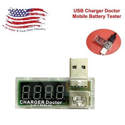 Usb Charger Doctor Mobile Battery Tester Power Detector Voltage Current Meter