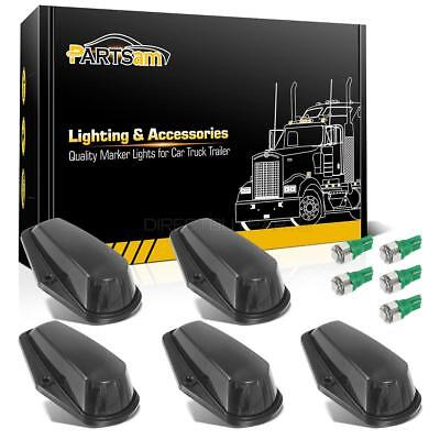 5x Cab Top Clearance Black Lights+5050 Green 168 LEDs for Ford F-150 F-250 80-97