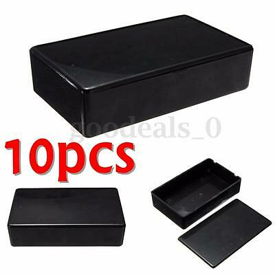 10pcs Electronic Enclosure Instrument Project Case Box Abs Plastic 100x60x25mm