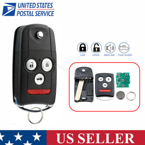 Reolacement For 2007 2008 Acura Tl Keyless Entry Remote