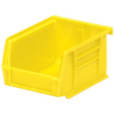 Akro-mils 30210yellow Stack Hang Bin 5-38d X 4-18w X 3h Yellow 24pk