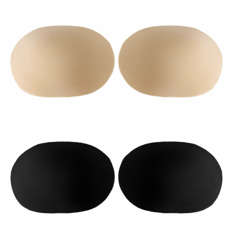 2Pcs Silicone Shoulder Pads Push-up Enhancer Invisible Breathable Pads NJB