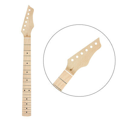 22 Fret Electric Guitar Neck for ST Guitar Parts Replacement Canada Maplewood