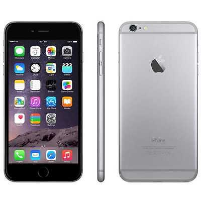 Apple iPhone 6 Plus 128GB Space Gray Sprint GSM Worldwide Unlocked Smartphone