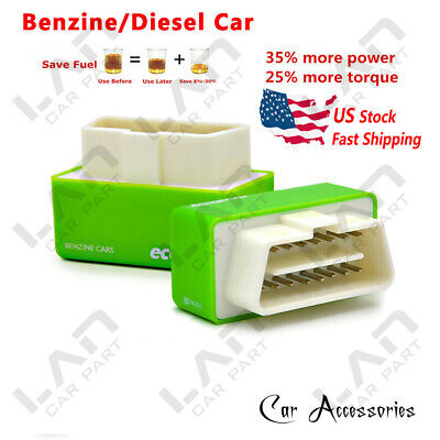 Green For Chevy Tahoe 96-17 5.3L 6L V8 Best Performance Race Chip Save (Best Gas For Chevy Cruze)