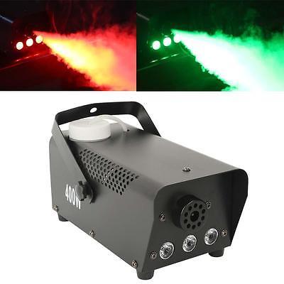 400 Watt Smoke Fog Machine RGB 3in1 LED Light DJ Stage Wireless Remote Control