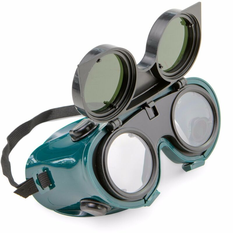 Welding Goggle Flip Up Glasses Ansi Cutting Grinding Oxy Acetilene Torch ANSI