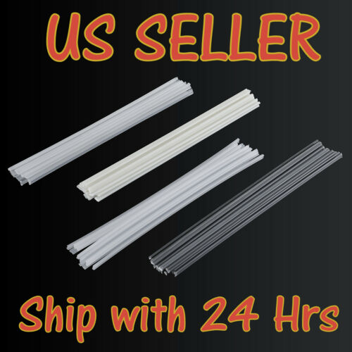 NEW Plastic Welding Rods ABS/PP/PVC/PE Welding Sticks Plastic Gun Welder 50Pcs