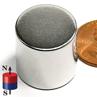 Cms Magnetics Super Strong N52 Neodymium Cylinder Magnet 34x 34 1-pc