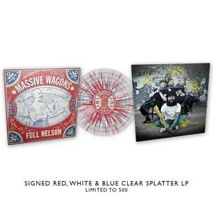 Massive Wagons 'Full Nelson' SIGNED Splatter Vinyl (500 only) - NEW