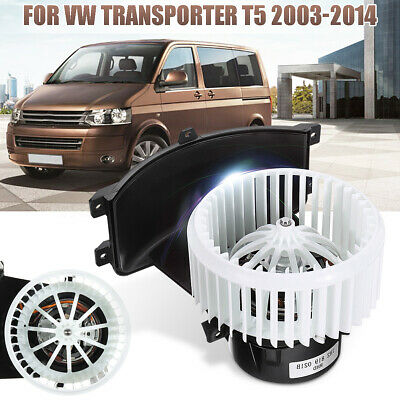 HEATER BLOWER MOTOR FAN FOR VW Transporter / Caravelle T5 RHD 7H2819021B