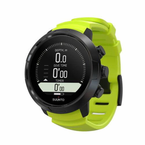 Suunto D5 Wrist Dive Computer Scuba Diving Watch w/USB Lime