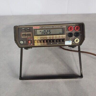 Keithley 197 Autoranging Microvolt Dmm Digital Multimeter