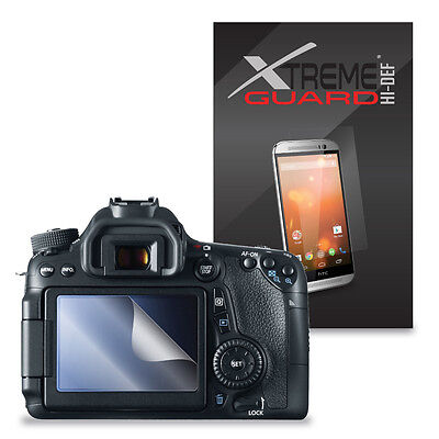 6-Pack XtremeGuard HIDEF Screen Protector For Canon EOS 70D, 760D, EOS Rebel T6s