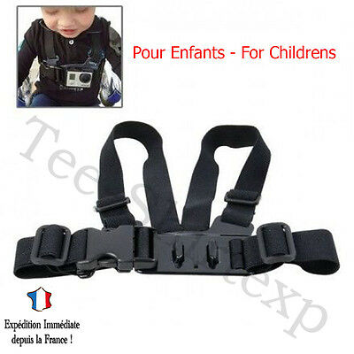 Imbracatura di PETTO BAMBINI JUNIOR CHILD Accessori per GOPRO HERO 2 3 3+ 4