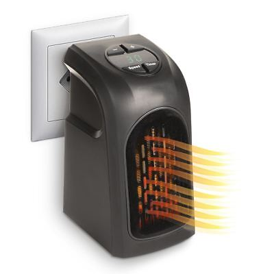 Calefactor portatil estufa electrica como Handy Heater 400W baño