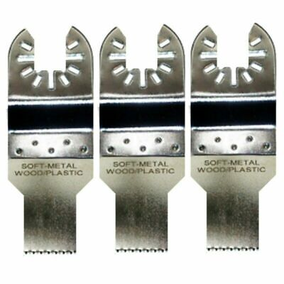 3 X 34 Detail Wood Oscillating Multi Tool Blades - Fein Multimaster Compatible