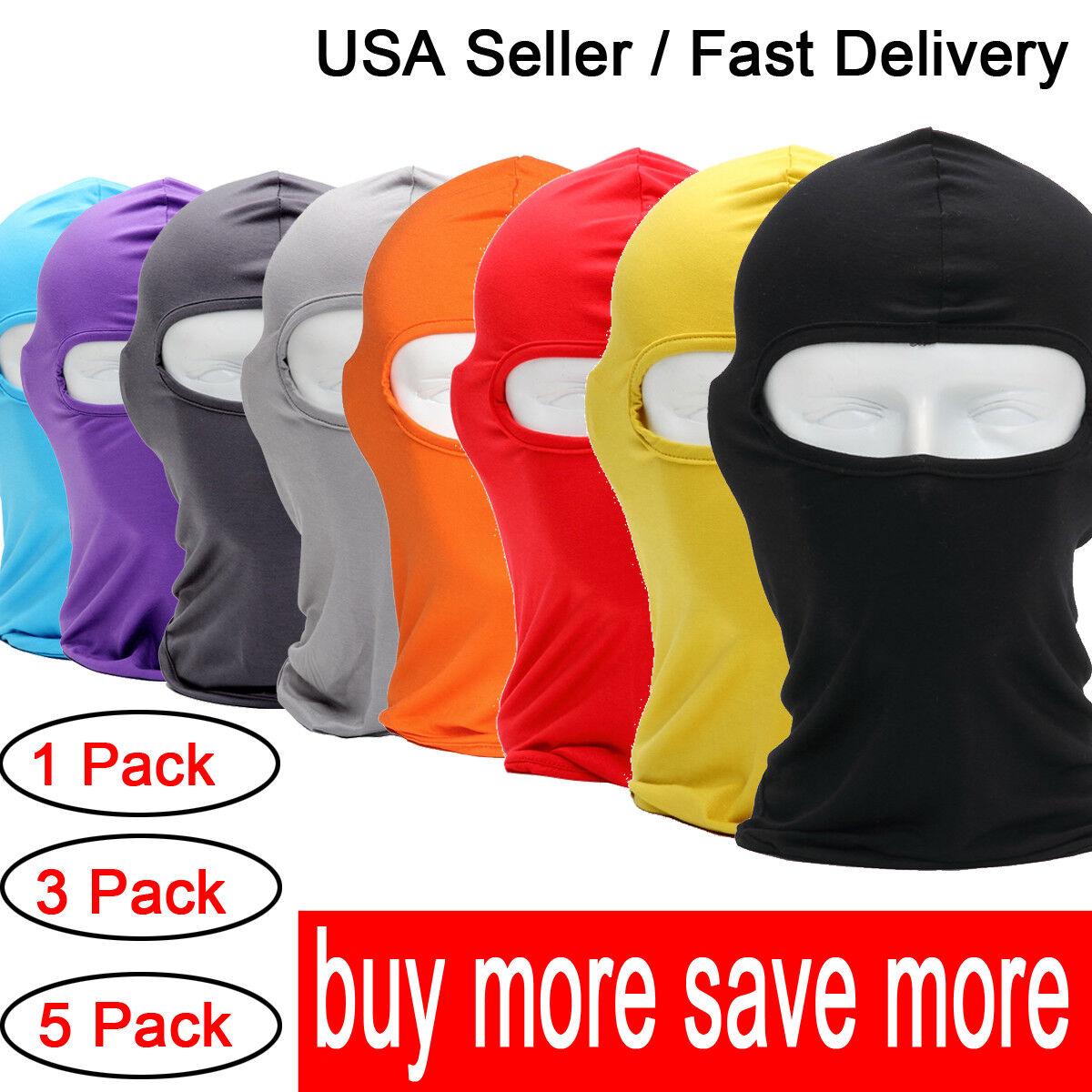 Ultra Thin Neck Warmer Ski Mask UV Protection Cycling Full F