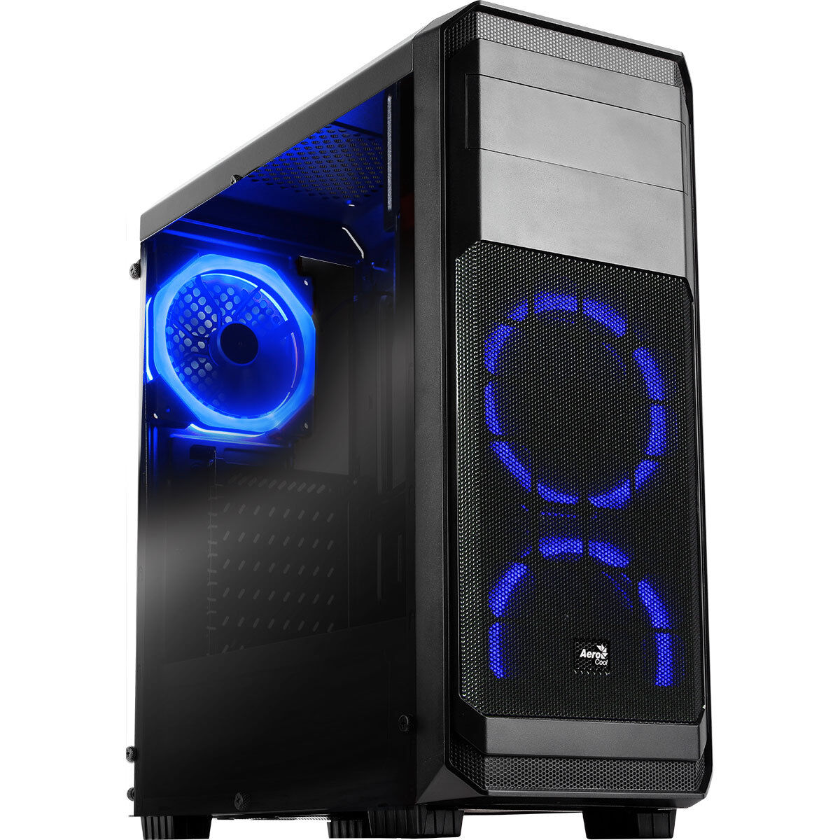 Computer Games - Gaming Computer Tower Desktop PC Intel Core i3 4GB RAM 500GB HDD 2GB GT710 Win10