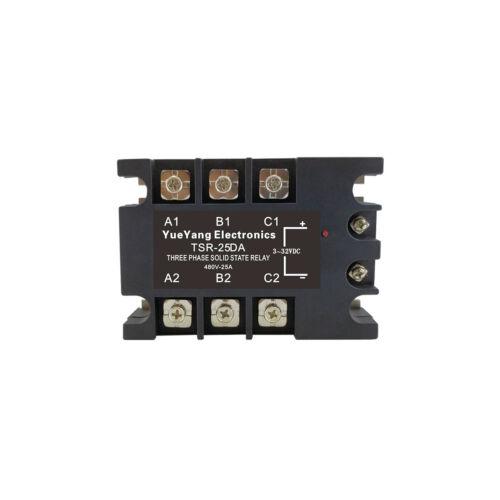 YueYang TSR-25DA three phase DC control AC 25A 480V solid state relay