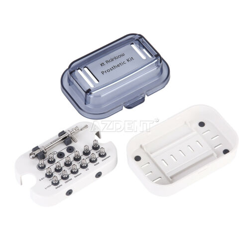 Dental Universal Implant Kit Driver Abutment Hand Hex Screwdriver Long+Short