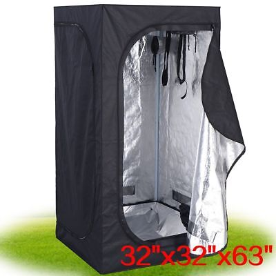 Indoor Grow Light Box Tent Aluminium Lined Bud Dark Room Plants Fruits
