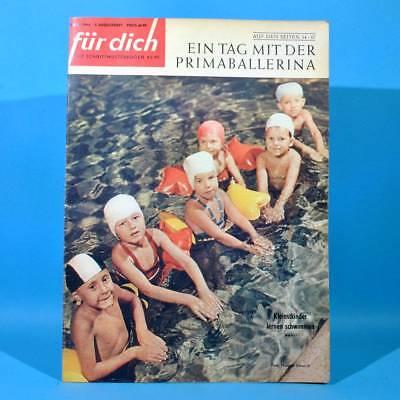 DDR FÜR DICH 35 1964 Altenberg Karl-Marx-Stadt Friedrichstadt-Palast Sellin C