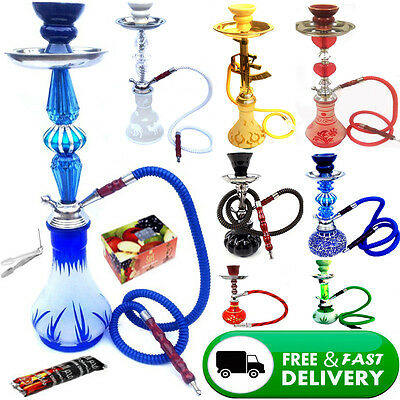 Big Medium Small Shishas Smoking Pipe Shisha Puffs Sheesha Hookah GOOD QUALITY