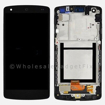 Google Nexus 5 LG D820 D821 LCD Touch Digitizer Screen Assembly + Frame Parts on Rummage