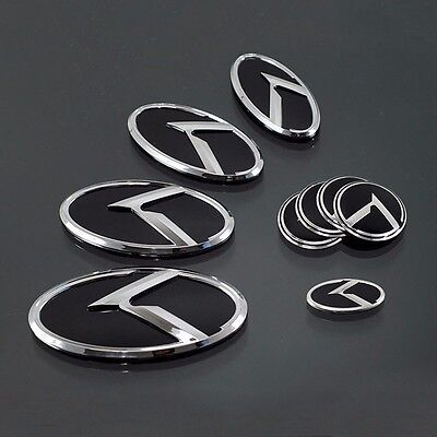 Front V Style Lid Tuning Emblem 128mm For 07 08 kia Optima Magentis