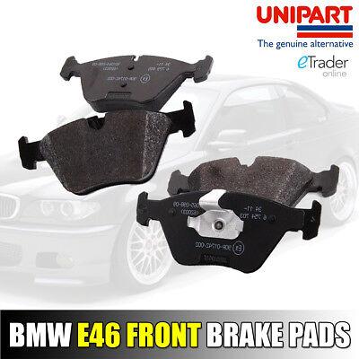 BMW 3 SERIES E46 FRONT BRAKE PADS 99-07 Genuine UNIPART Premium Quality 320 325