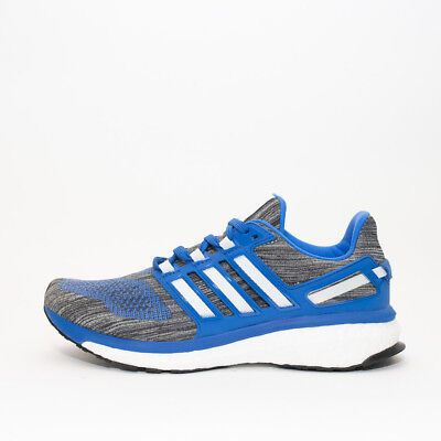 Mens Adidas Energy Boost 3 Blue Trainers RRP £109.99 Sizes 12 & Above !!!