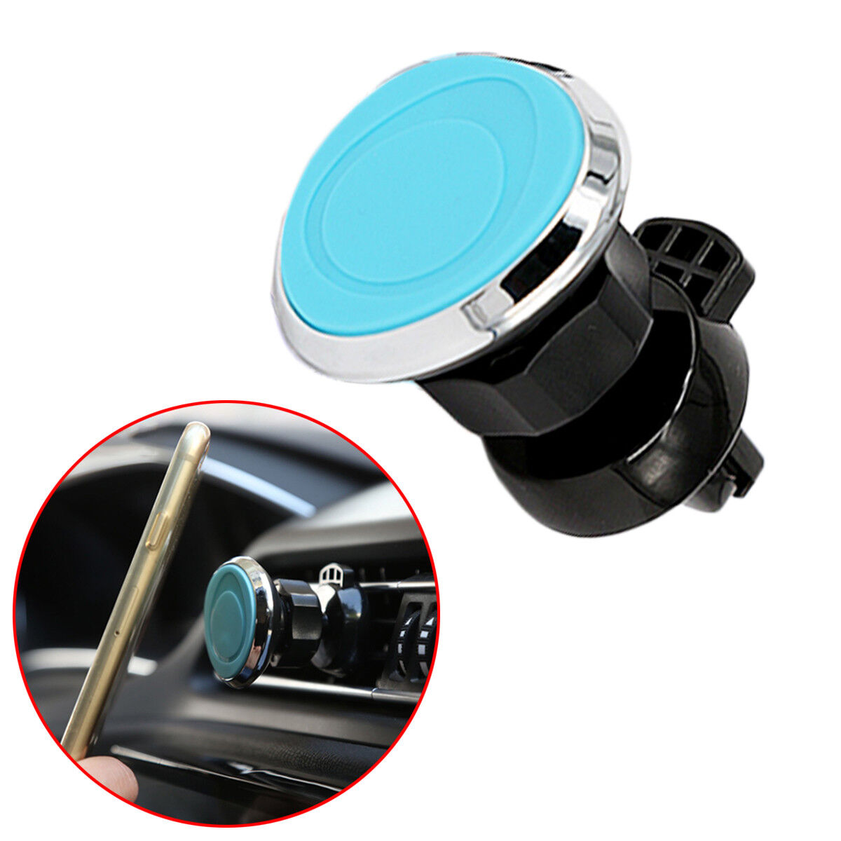 Magnetic Cell Phone Mount Holder Truck Air Vent Stand GPS Bracket Accessories