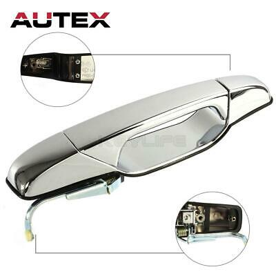 AUTEX Outer Rear Left Driver Door Handle For Cadillac Escalade EXT 2007-2012