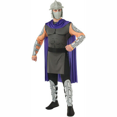 Shredder Adult Costume Teenage Mutant Ninja Turtles Villain Mask Cape TMNT