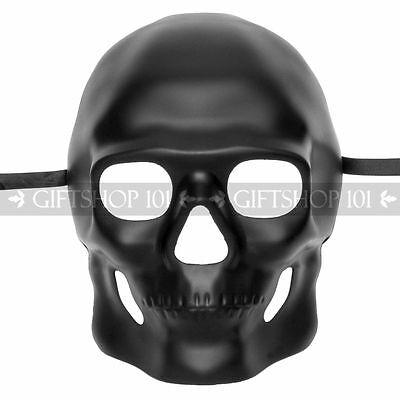 Black Sugar Skull Mask Halloween Masquerade Party Day of the Dead Dia de Muertos