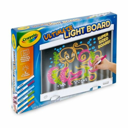 Crayola Ultimate Light Drawing Board Reusable Picture Projector For Kids Xmas MF