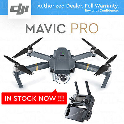 DJI MAVIC PRO w/ 4K Stabilized Camera, Active Track, Avoidance, GPS, WiFi