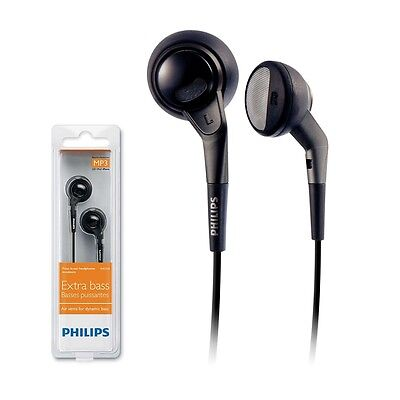 Genuine Philips SHE-2550 In-Ear Earphones Extra Bass Headphones SHE2550