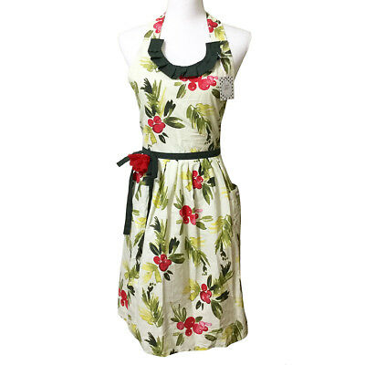Winter Berry Holiday Apron Adult Cotton Holly Diva Christmas (Holly Apron)