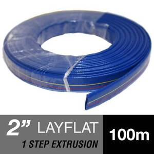 1 2 3 4 6 8 Inch PVC Layflat Water Transfer Lay flat Hose Chipping Norton Liverpool Area Preview