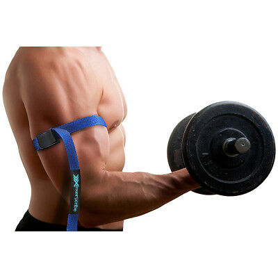 BFR Bands Classic Blood Flow Restriction Occlusion Training Bands - Blue
