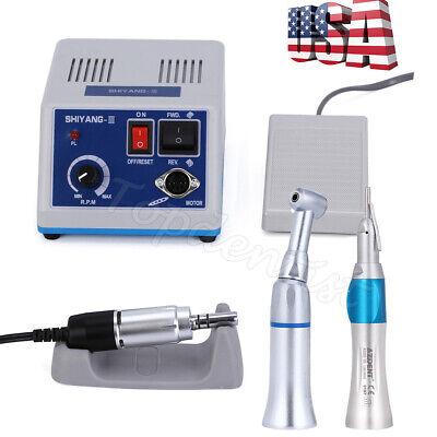 Usadental Lab Marathon Micromotor Polisher Or Contra Angle Straight Handpiece