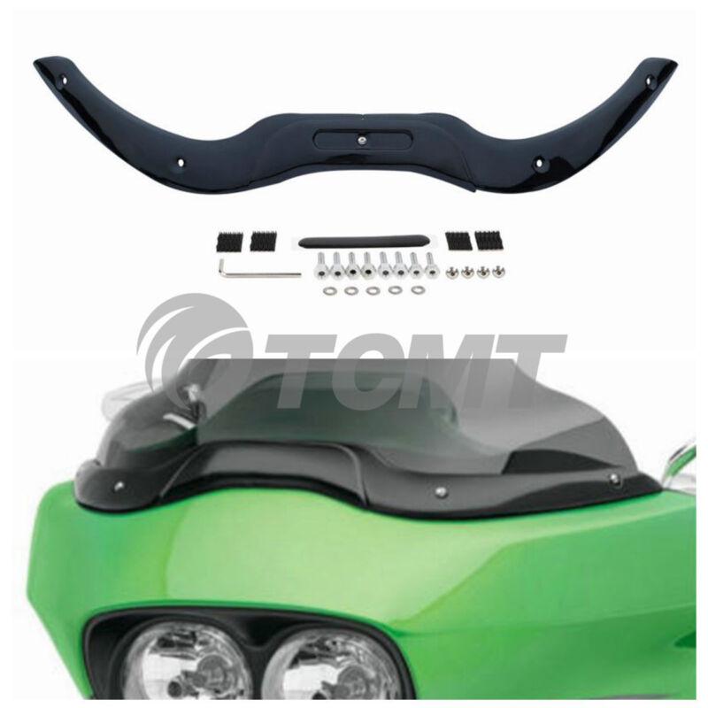 New Windshield Windscreen Trim For Harley Touring Road Glide 04-13 FLTR FLTRU US