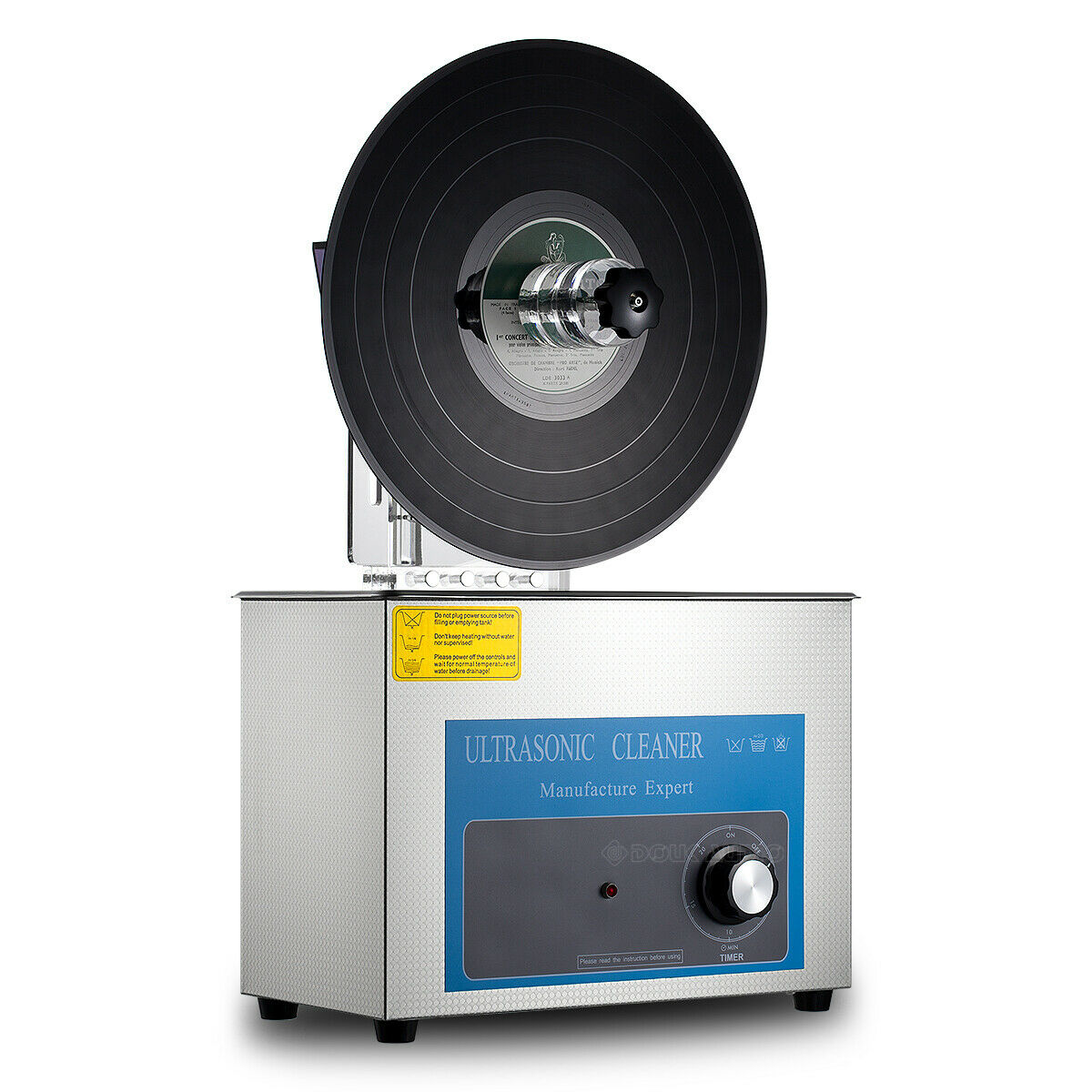 Liftable Ultrasonic Cleaner Timing Washer For Lp Vinyl